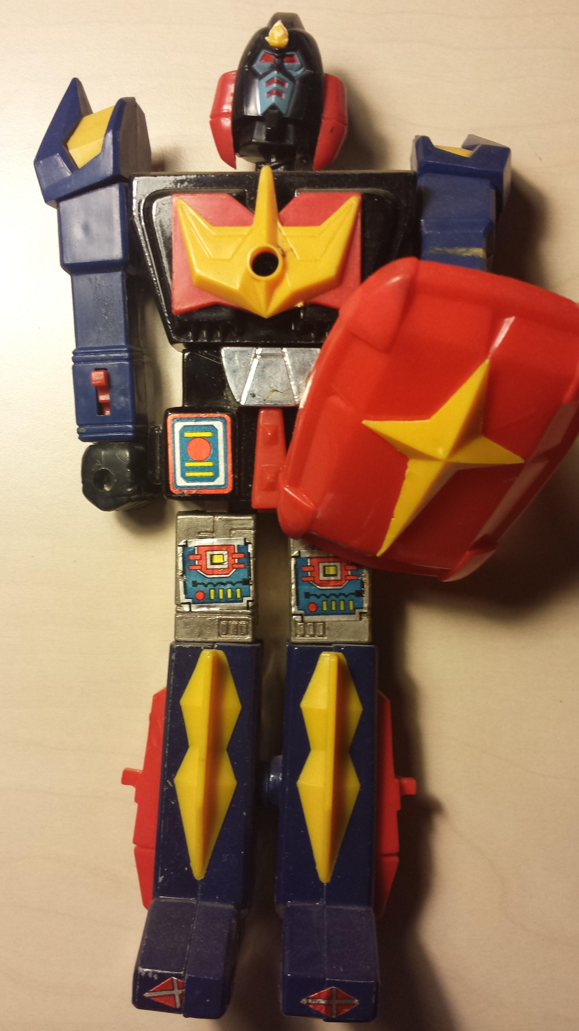 VENDO BALDIOS + DALTANIOUS Robot-blu_fronte
