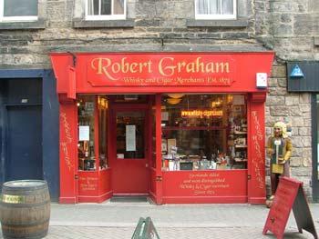 Robert Graham à Edimbourg Outside