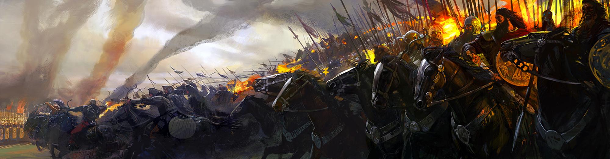 Campagne de King Arthur Pendragon – Great Pendragon Campaign Penbanner