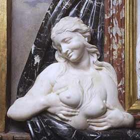 """Dalla """"Carità romana alla Madonna del latte"""" Bernini1b"""