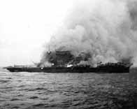 La bataille de la mer de corail Lexingtonbrule_v