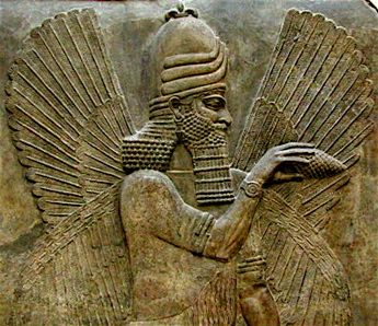 HARVESTED LIKE AN EAR OF CORN : Sounds like an Archon Psyop ? Marduk-pine-cone-magic