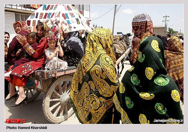 عروسی سنتی تركمن ها به روایت تصویر L00906394182