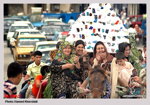 عروسی سنتی تركمن ها به روایت تصویر L00906394224