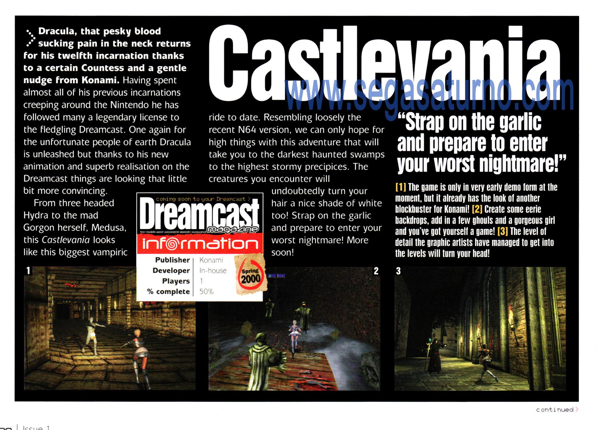 les pièces très rare selon vous - Page 8 Castlevania_dreamcast