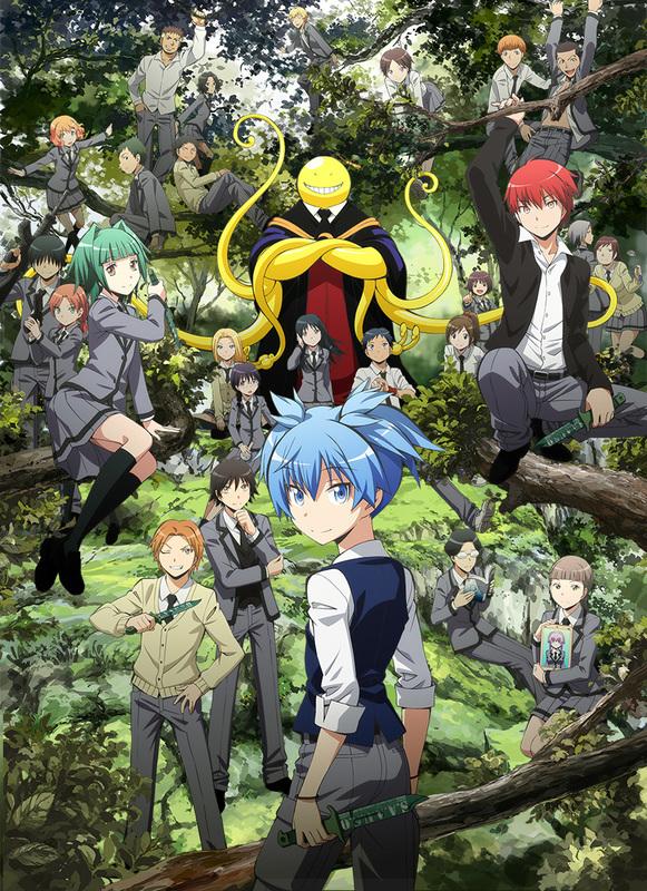 Les uniformes scolaires au Japon et dans la culture otaku Assassination-Classroom-S2