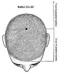 Protocole au degre 3/ Accumulation de la Force vitale dans les mains  Baihui