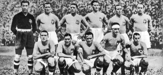 Historia de los Mundiales desde 1930 Parte I Italian_football_team_1934