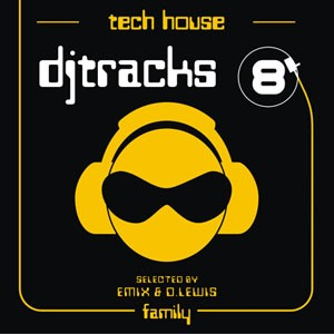 DJ Tracks 8 - Tech House - VV.AA  8068381717841