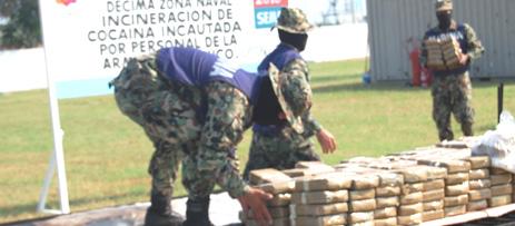 LA ARMADA DE MÉXICO REALIZA INCINERACIÓN DE MÁS DE 700 KILOG Foto_03