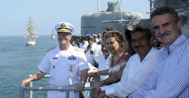 Centenario Gesta Heroica Veracruz: Velas Internacionales 2014 Foto12