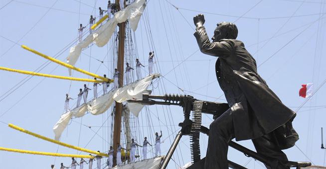 Centenario Gesta Heroica Veracruz: Velas Internacionales 2014 Foto15