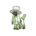 Furfrou with a tophat