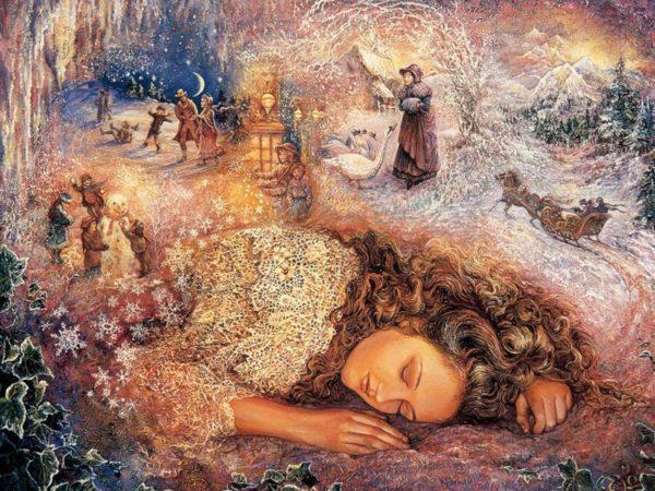 Значение снов в зависимости от дней месяца Proshlyie-zhizni-2-600x450