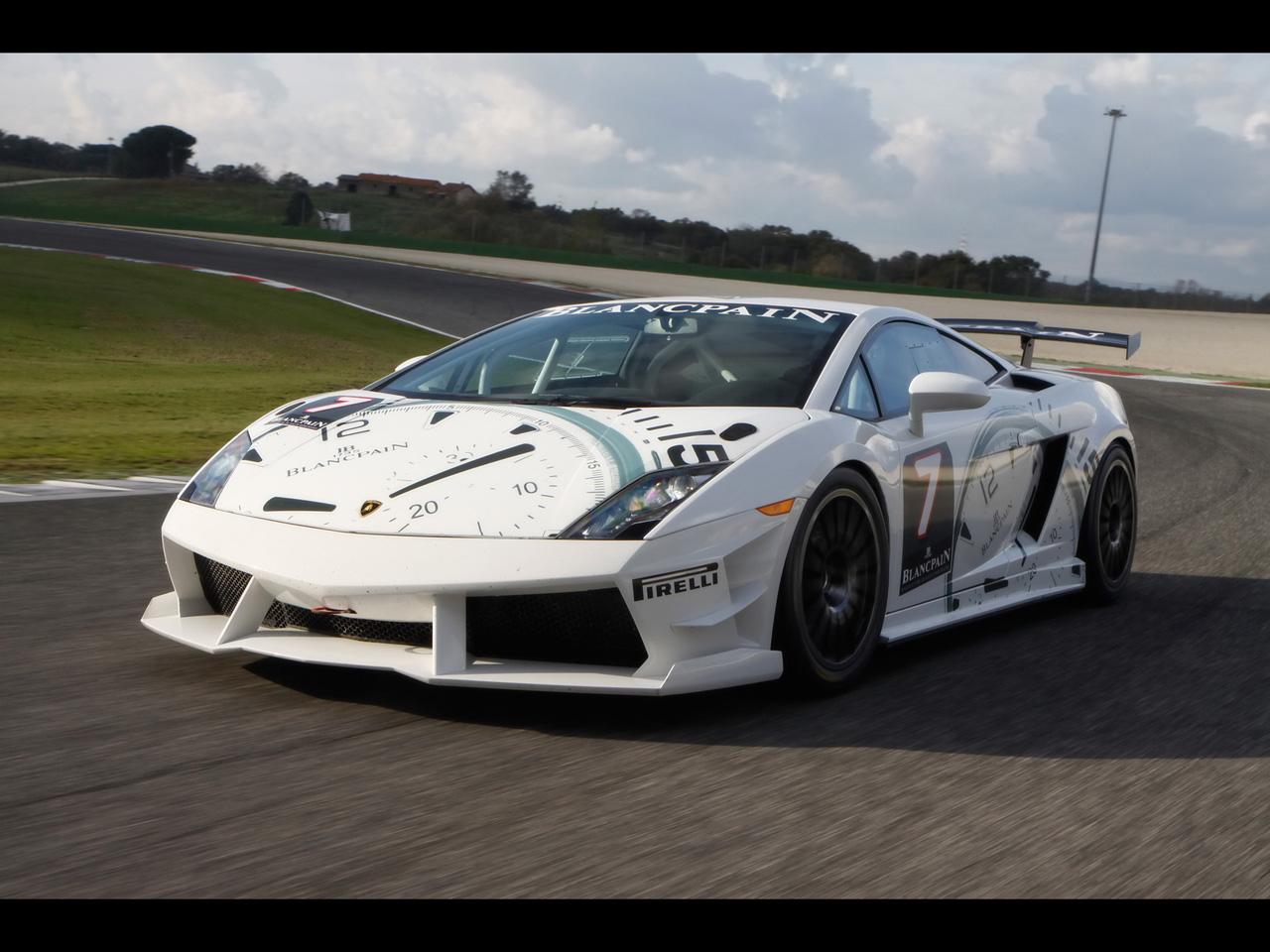 Les marques de montres et l'automobile 2009-Lamborghini-Blancpain-Super-Trofeo-White-Front-Angle-Speed-1280x960