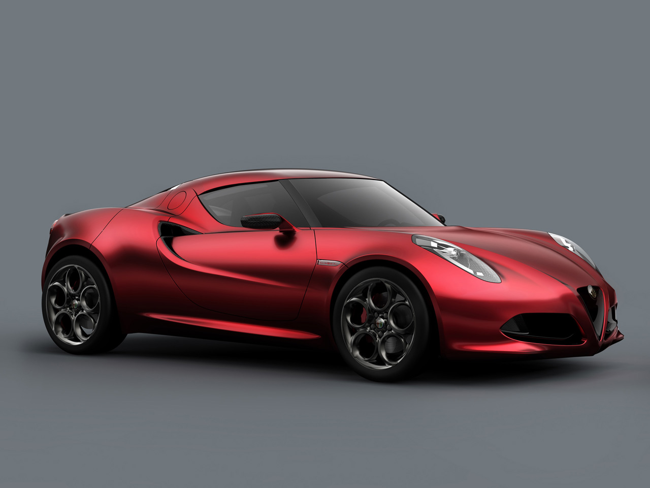 2011 Alfa Romeo 4C Concept 2011-Alfa-Romeo-4C-Concept-Front-And-Side-1280x960