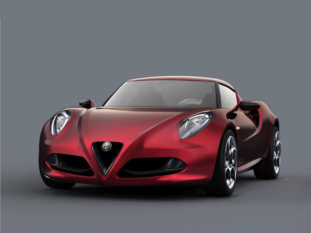 2011 Alfa Romeo 4C Concept 2011-Alfa-Romeo-4C-Concept-Front-Angle-1280x960