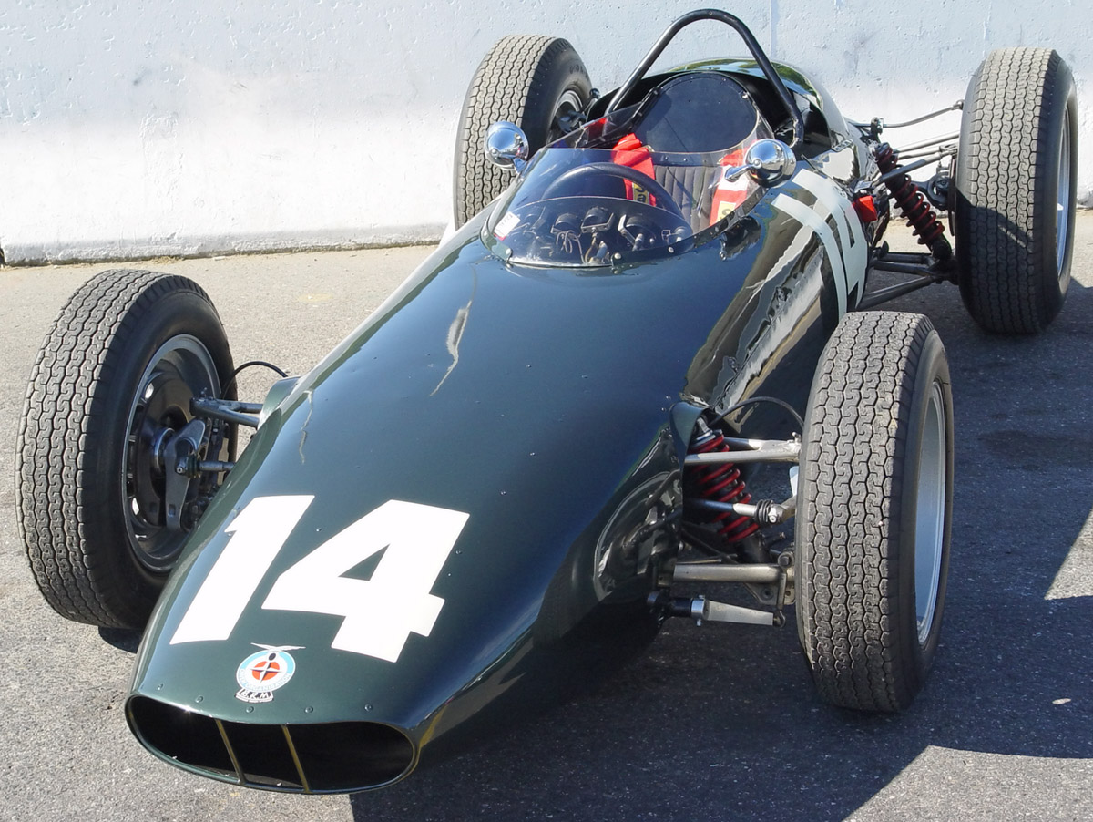 We are the spirit of mechanics. We are the spirit of racing. BRM-Owen-Organisation-Green-rc-fa-lr