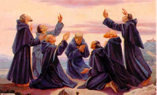 17/02 St Alexis et les Fondateurs des Servites de Marie Sevenholyfounders5