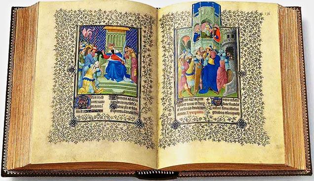 Libri antichi e libri miniati Libro-delle-Ore-del-duca-de-Berry.