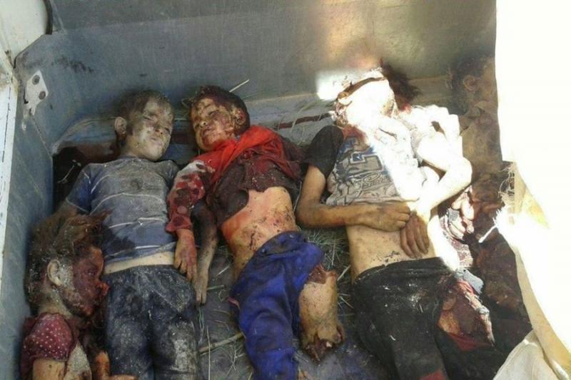 بعد مجزرة التحالف بريف منبج .... تنظيم داعش يرتكب مجزرة بحق مدنيين 6735eeef8a59e46585f03796b173e7b7_L