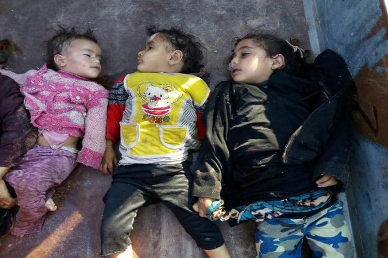 """بحجة الإرهاب الكاذبة .... """"سارين"""" الأسد والروس يقتل 80 مدنيا في ريف حماة Eea54d6214654e6badf5a3010bb249e1_L"""