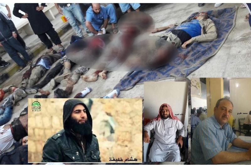 أكثر من 28 شهيداً في تفجير أطمة بينهم رجال قضاء حلب..وقيادي بارز في الأحرار F54226443dfedb94c9d9b52433ebd626_L