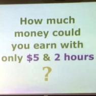 مالذي يمكن ان تفعله بخمسة دولارات في ساعتين ؟ 5-dollars-2-hours-assigment-stanford-tina