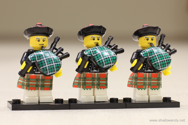 Jeux / Jouets LEGO-Series7-3Bagpiper