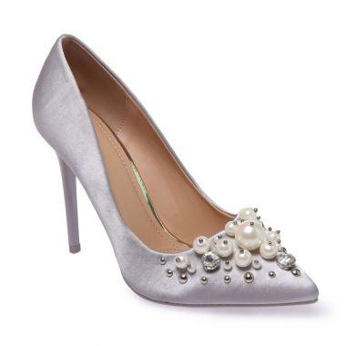 احذية بالكعب العالي Escarpins-gris-satines-a-perles-et-strass
