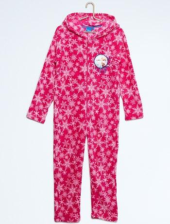 بيجامات للاطفال Pyjama-combinaison-elsa-anna-fuchsia-fille-vr508-2-fr1