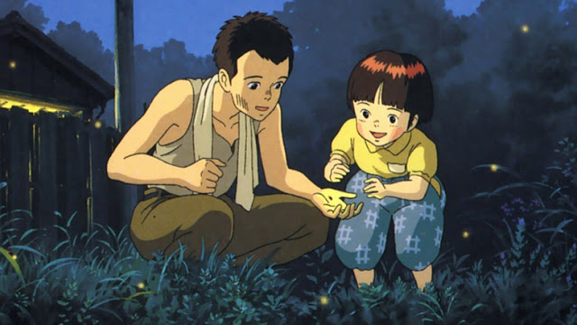 TOP 10 MEJORES PELICULAS DE LOS STUDIOS GHIBLI (Por mi :3)  Grave-of-the-fireflies2
