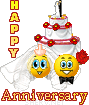 Happy Anniversary 3rd Forum. Wedding-anniversary-smiley-emoticon