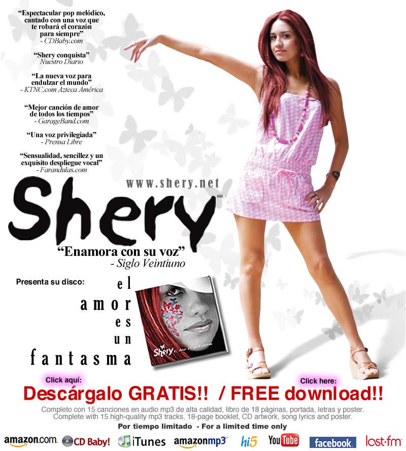 SHERY te regala su disco Downloadalbum800