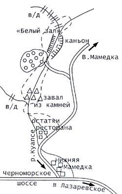 Экспедиции к выпаривателям родниковой воды - Страница 20 Shaxe_reka_kuapse_zaval