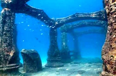 Hidden History, Under Water Civilization Ruins, YONAGUNI Ruins_SunkenCityYonaguni