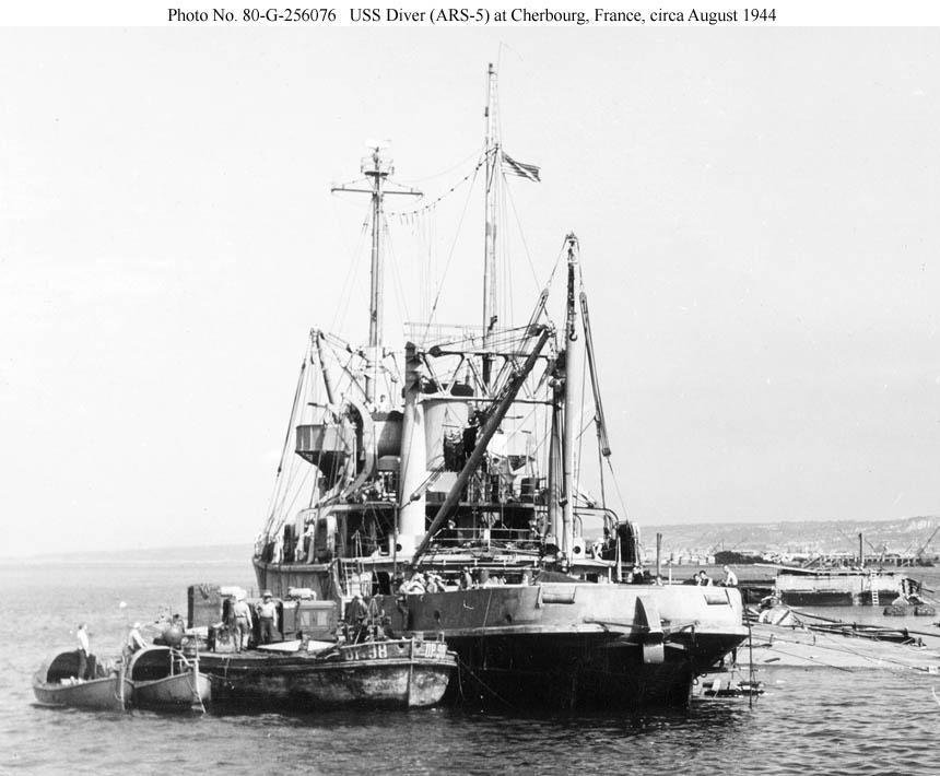 1/700 - loose canon - uss diver - rescue ship Diver1b-08