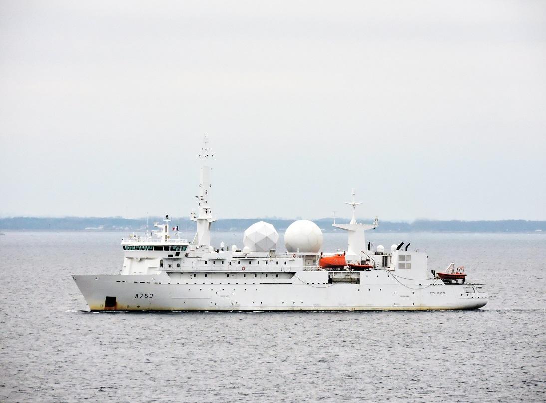 A759 Dupuy de Lôme (navire collecteur de renseignements) 2586310