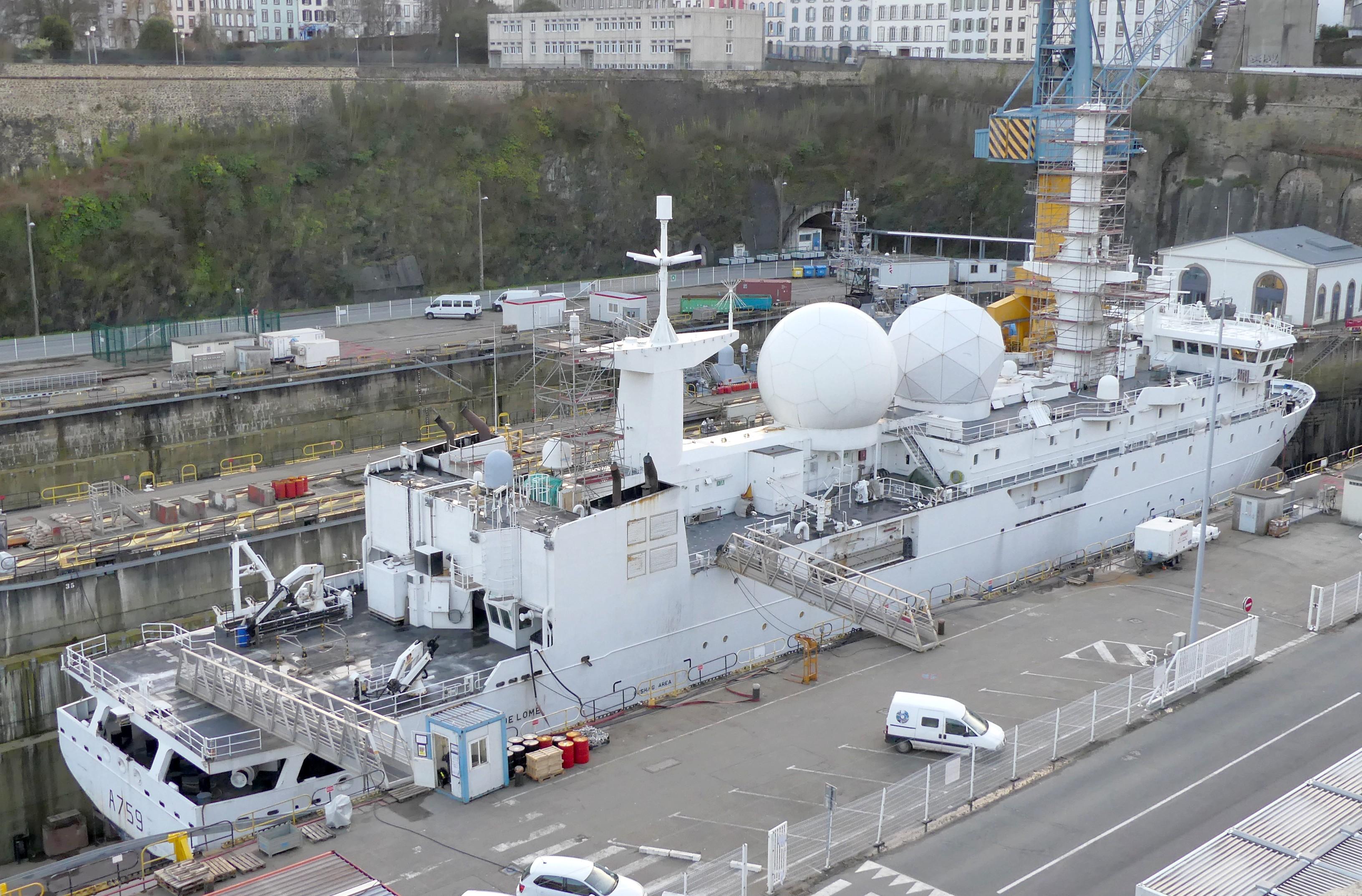 A759 Dupuy de Lôme (navire collecteur de renseignements) 2811310