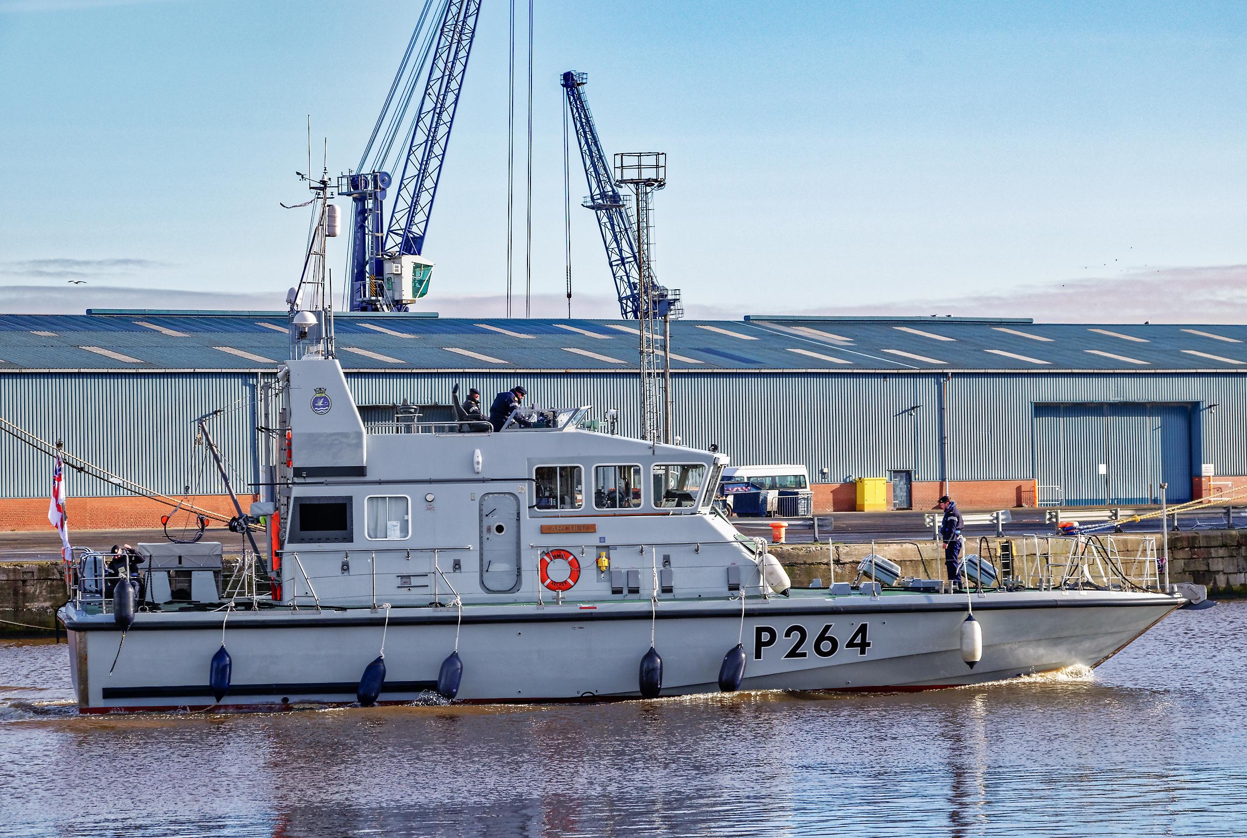 Archer-class patrol vessels 2620750
