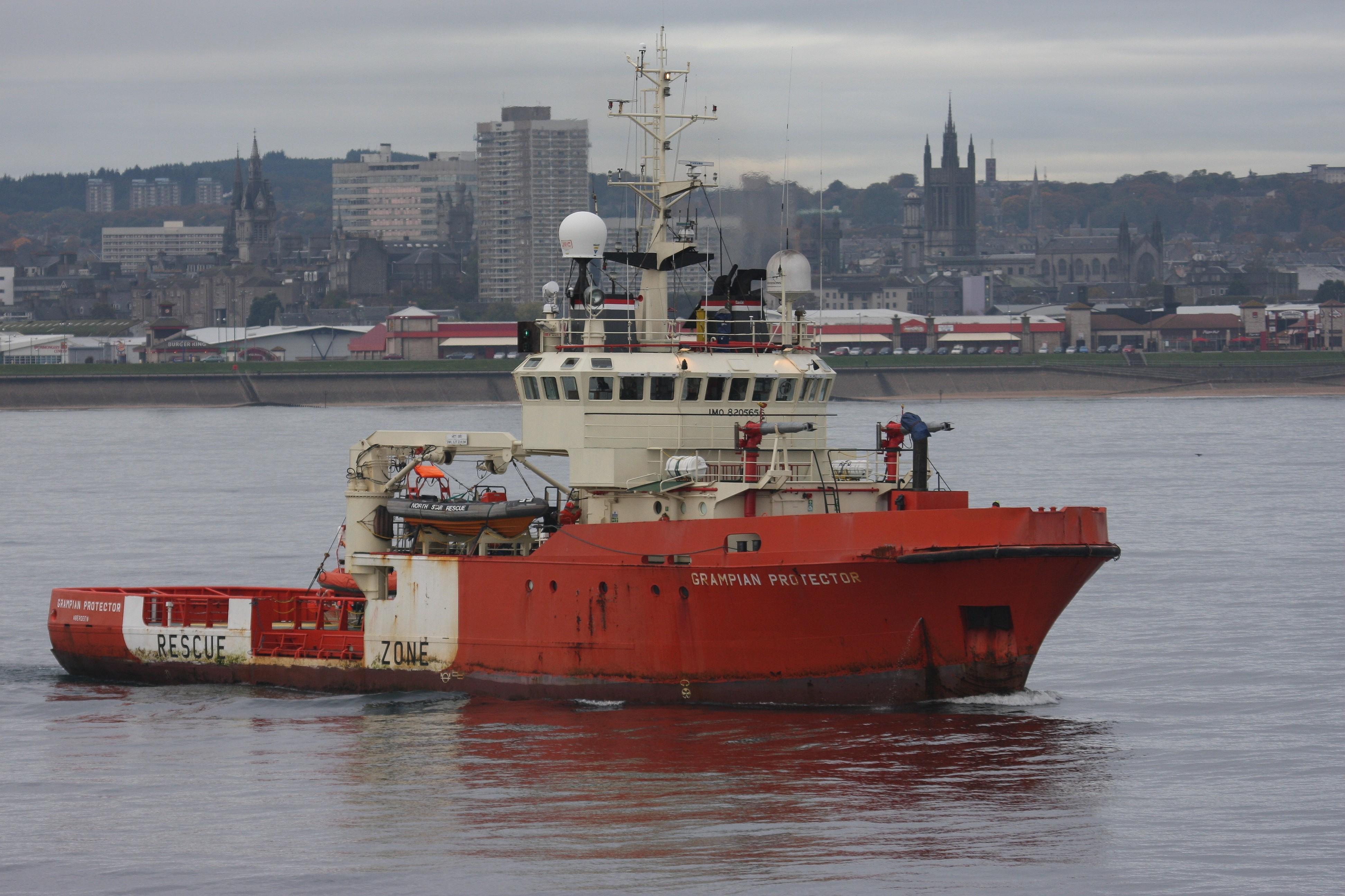 A bord d'un navire d'assistance aux plates-formes offshore 1003160