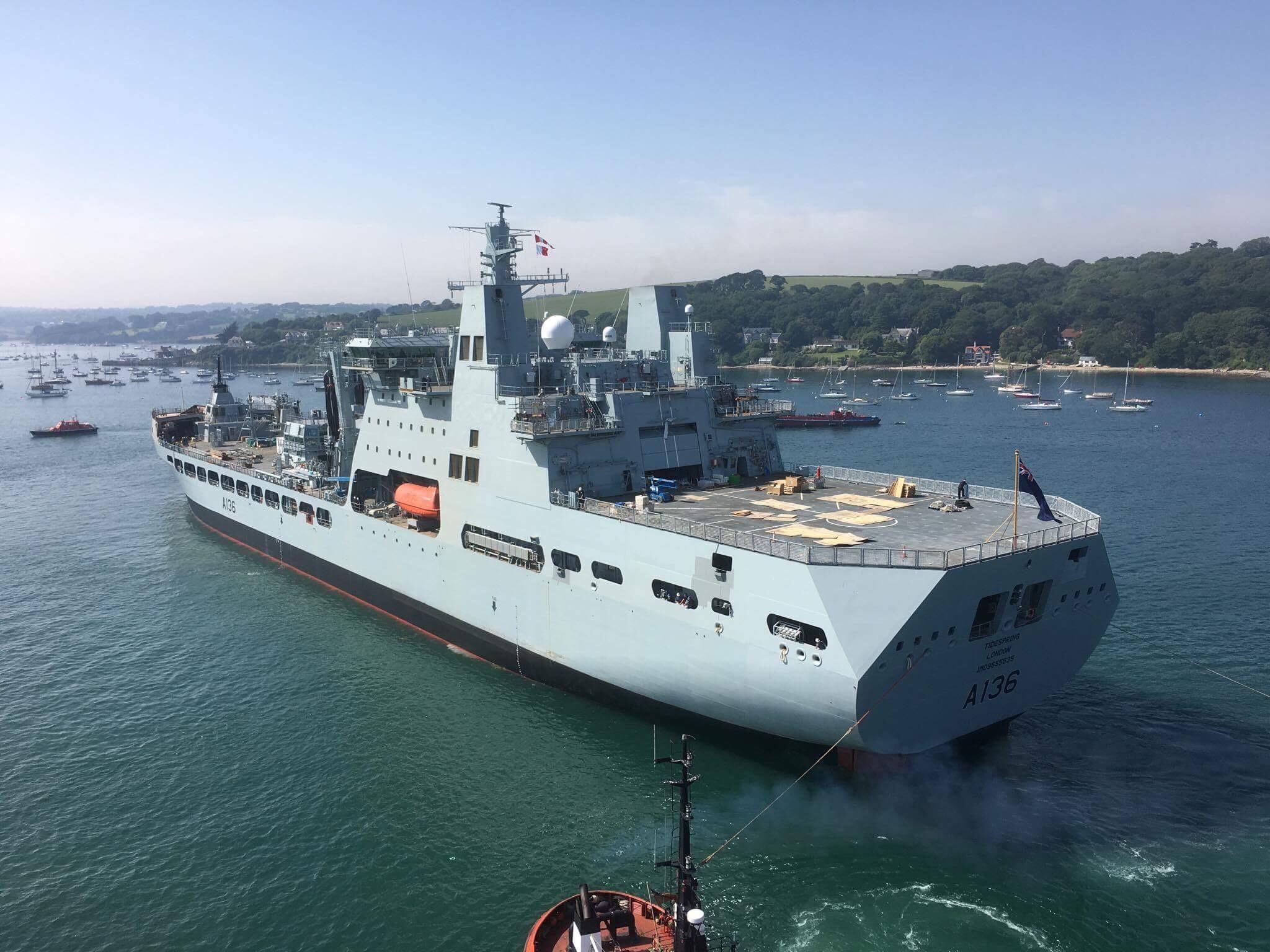 RFA : Royal Fleet Auxiliary - Page 3 2686213