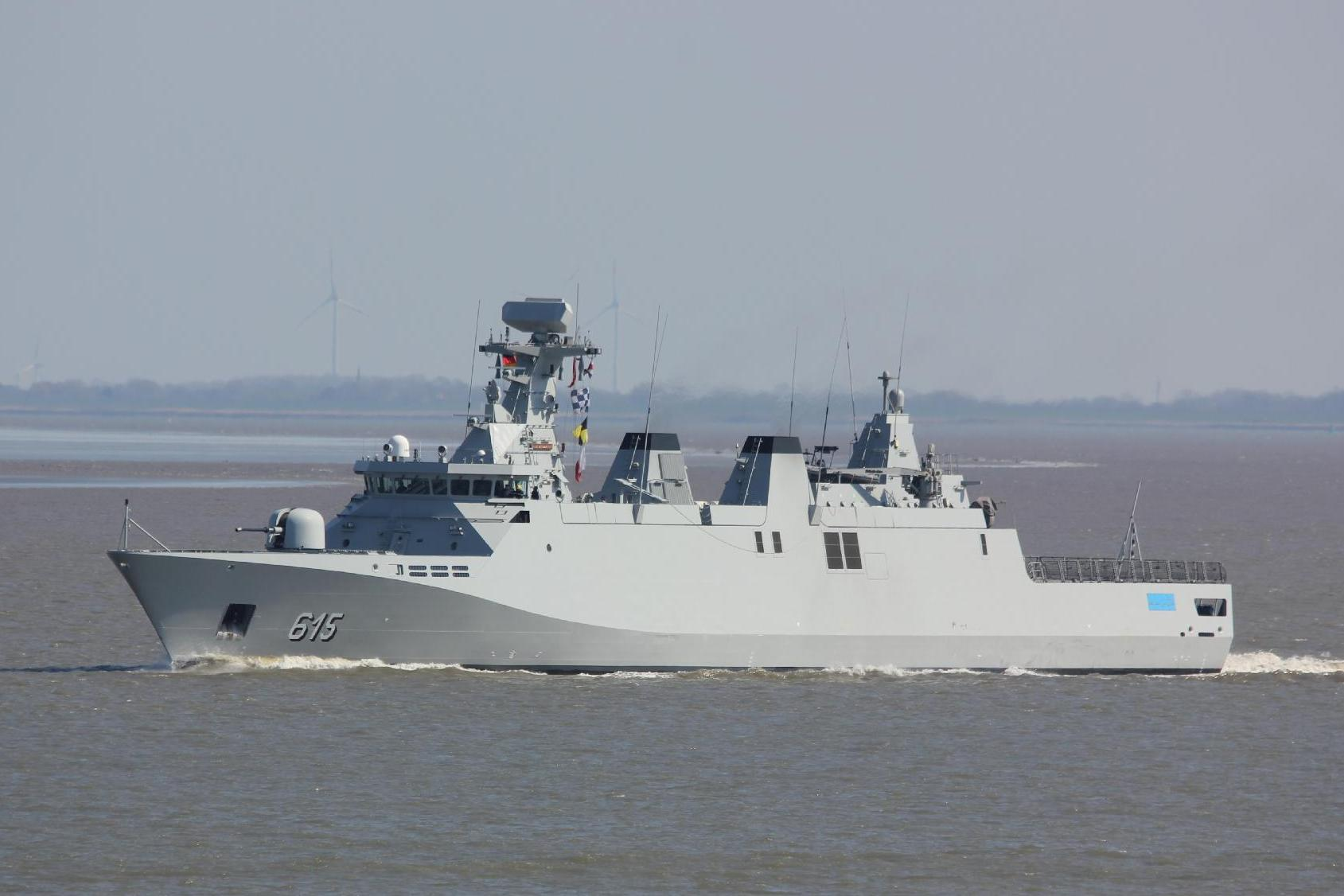 Royal Moroccan Navy Sigma class frigates / Frégates marocaines multimissions Sigma - Page 26 3096443