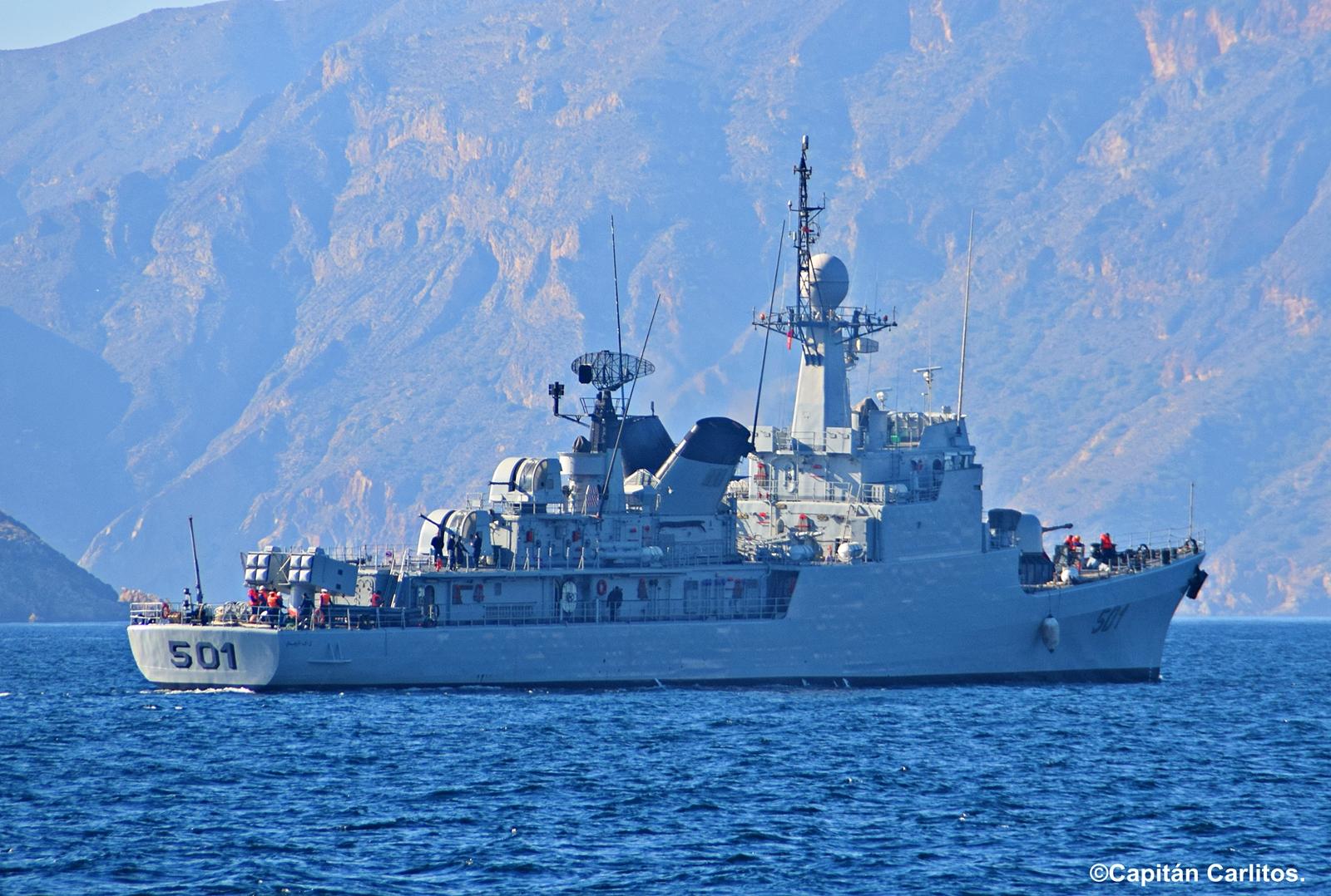Royal Moroccan Navy Descubierta Frigate / Patrouilleur Océanique Lt Cl Errahmani - Bâtiment École - Page 3 2799543