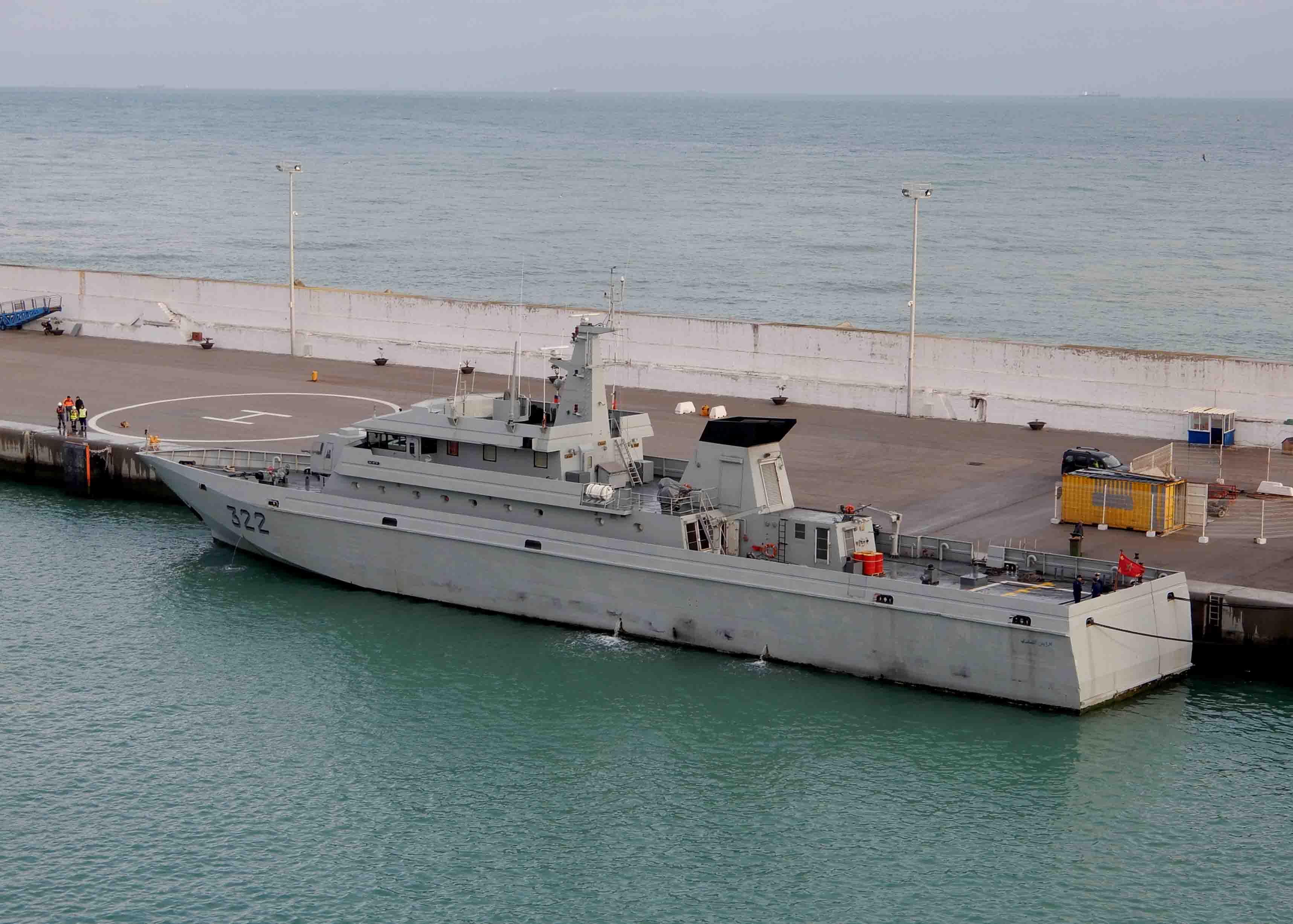 Royal Moroccan Navy Patrol Boats / Patrouilleurs de la Marine Marocaine - Page 13 2846973