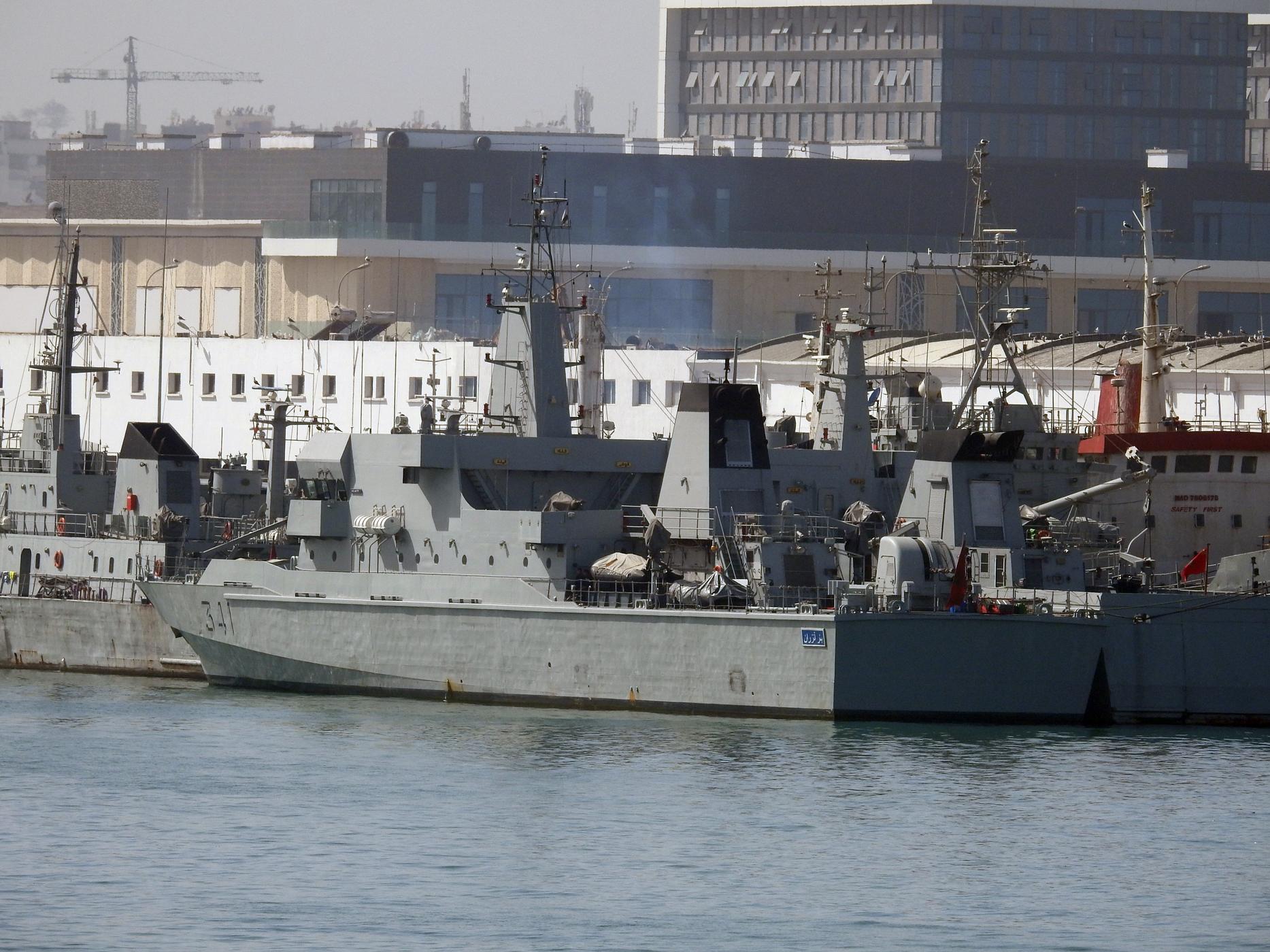 Royal Moroccan Navy OPV-70 / Classe Bir Anzarane - Page 6 3042494