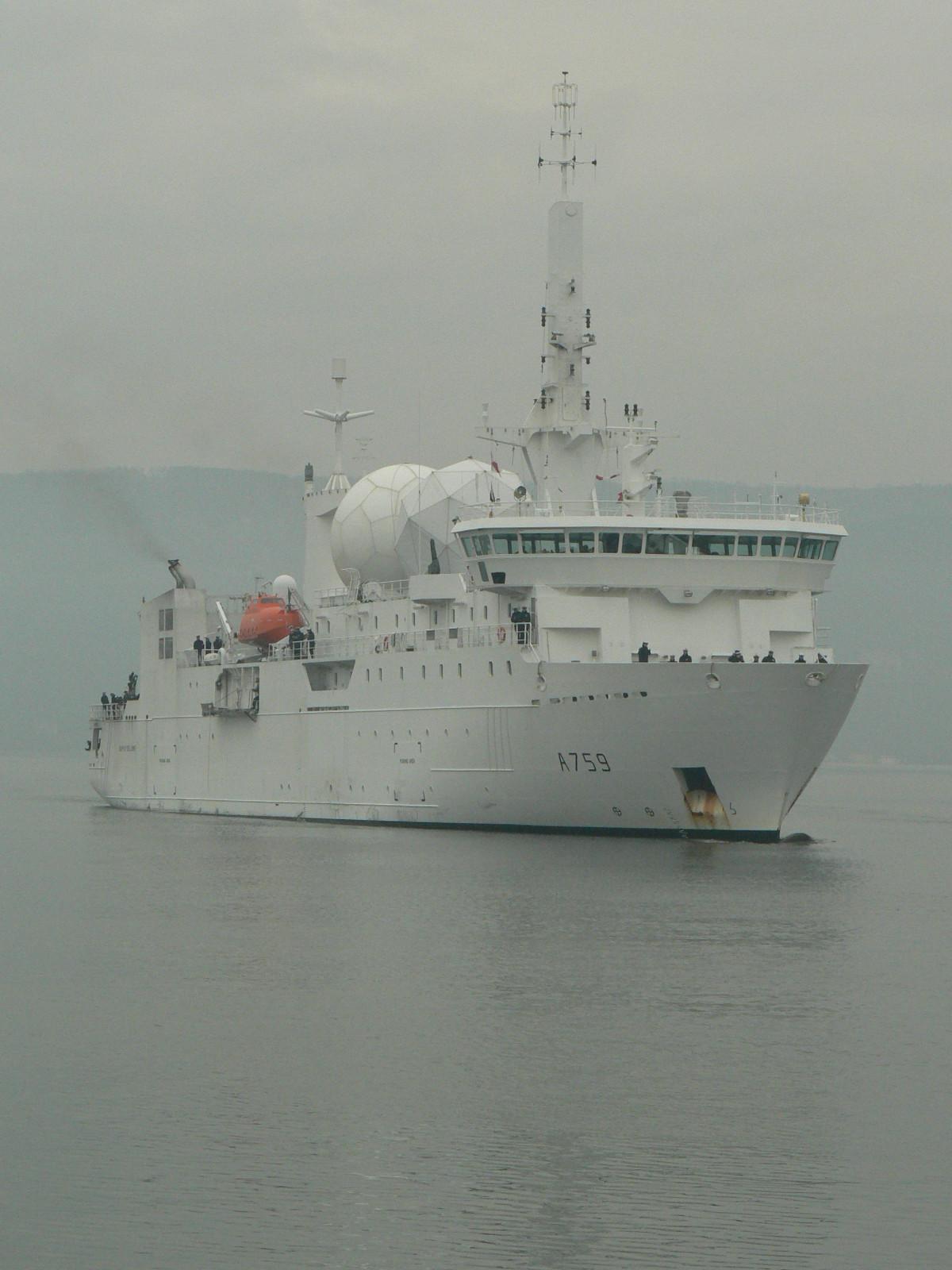 A759 Dupuy de Lôme (navire collecteur de renseignements) 321737