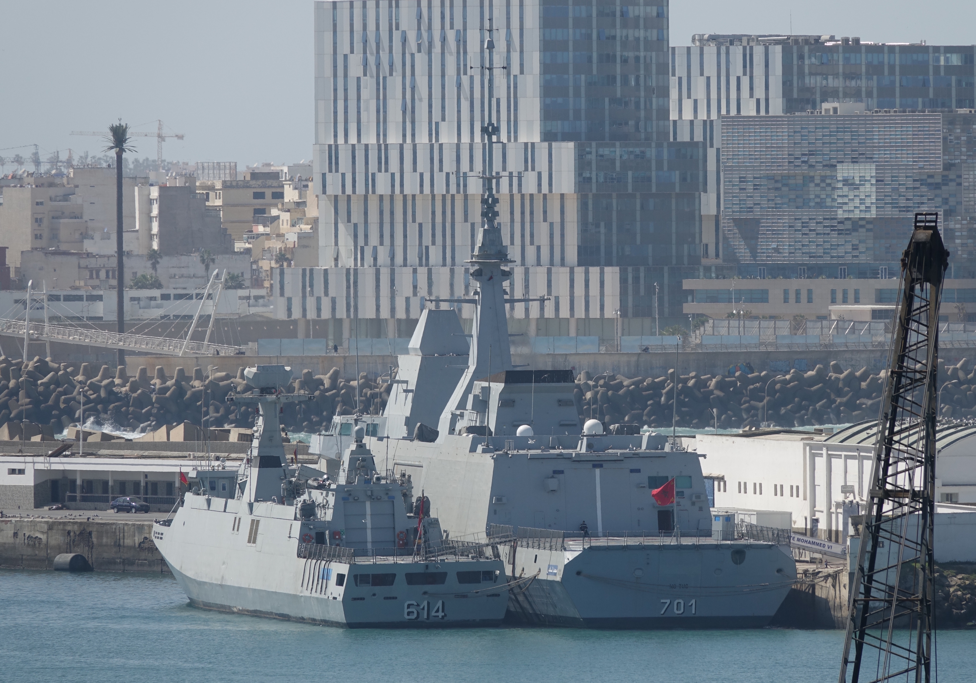 Royal Moroccan Navy FREMM Frigate / FREMM Marocaine - Mohammed VI - Page 13 3007857