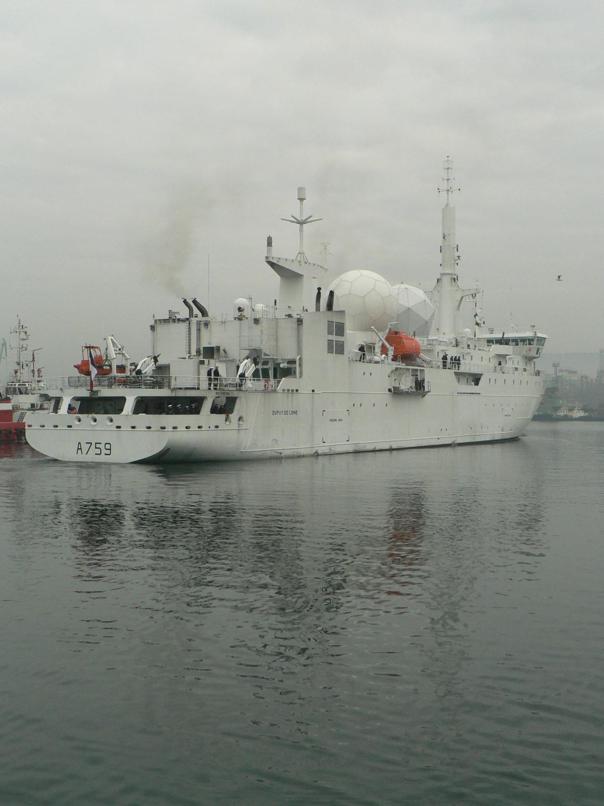A759 Dupuy de Lôme (navire collecteur de renseignements) 321738