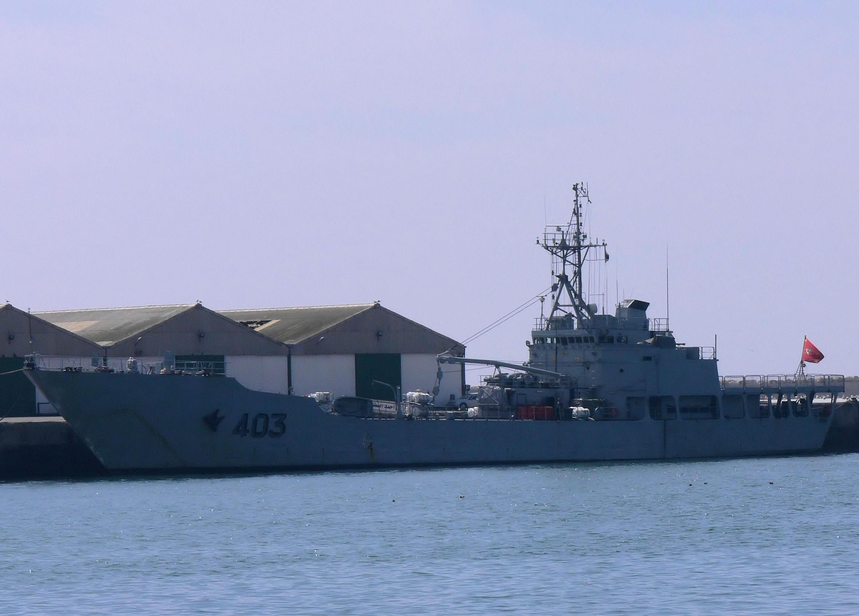 Royal Moroccan Navy Batral LST Class / Batral marocains classe Daoud Ben Aïcha - Page 4 2441499